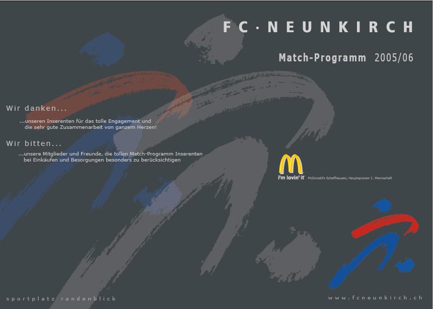Match-Programm 2005/06