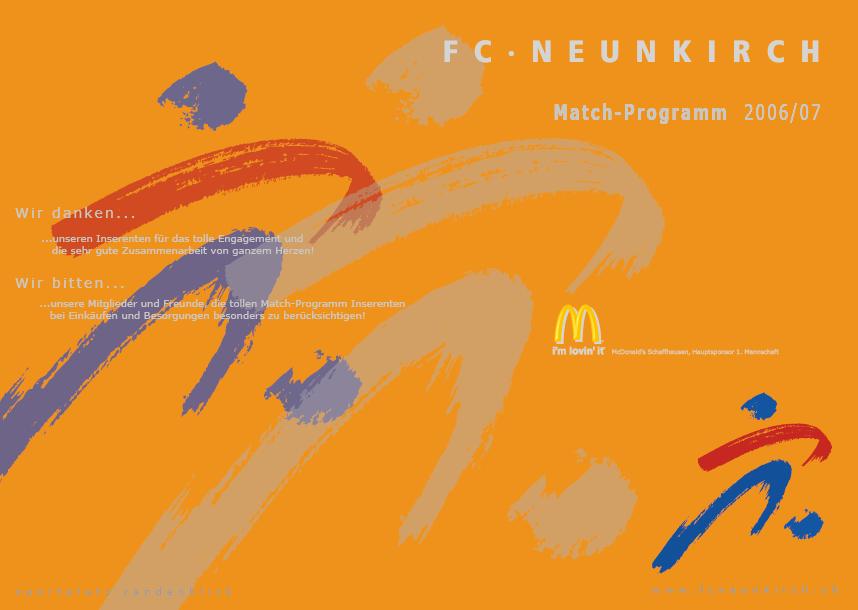 Match-Programm 2006/07