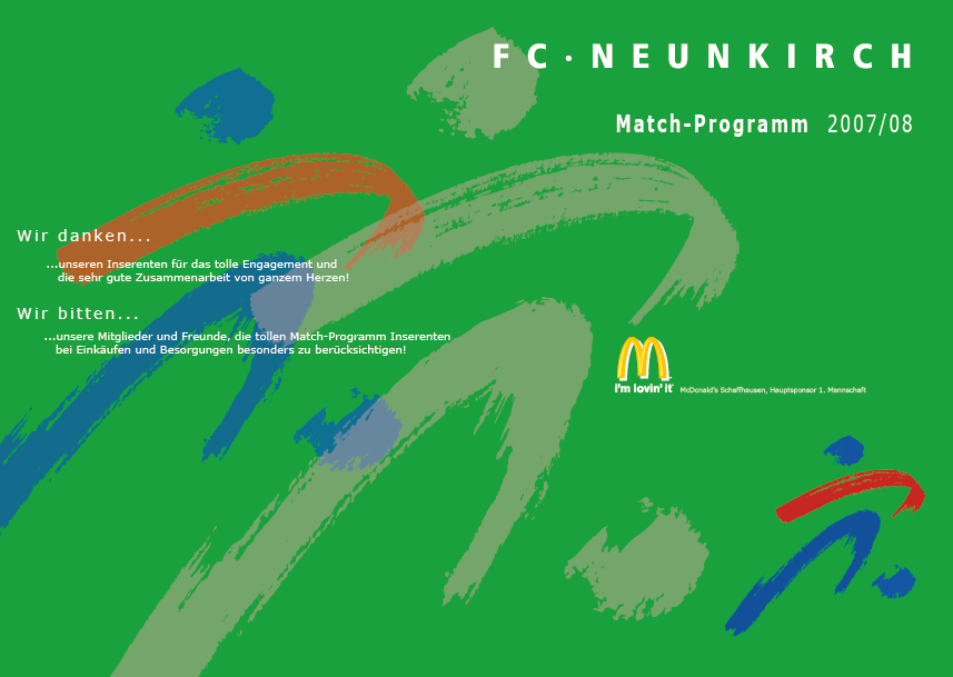 Match-Programm 2007/08