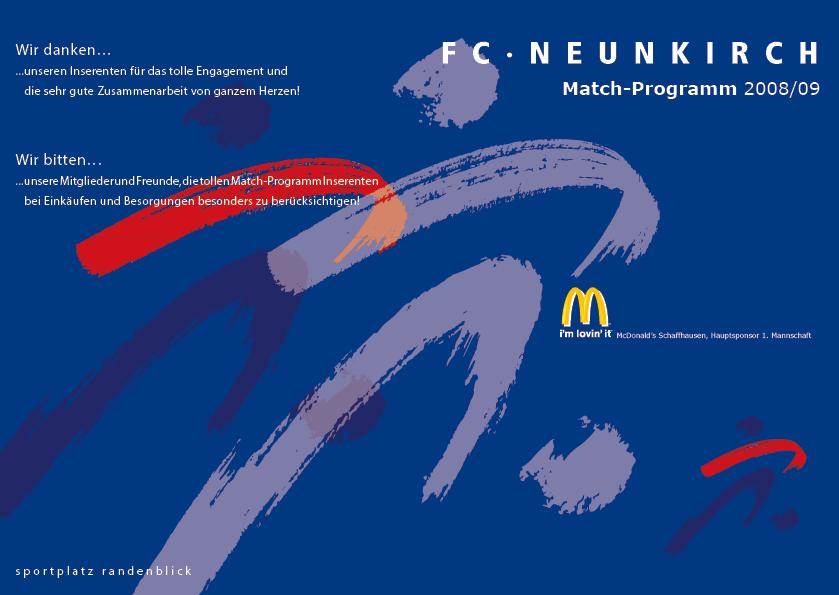 Match-Programm 2008/09