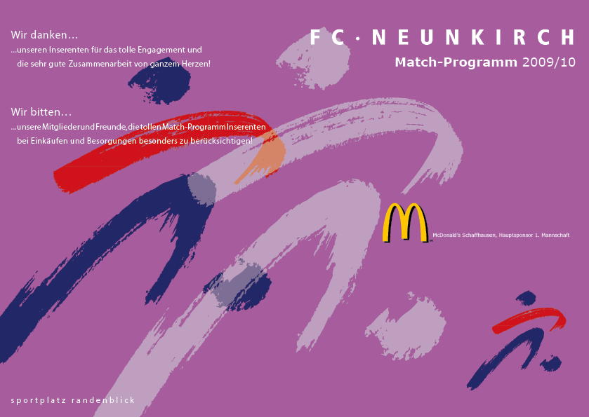 Match-Programm 2009/10