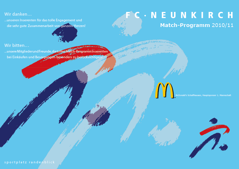 Match-Programm 2010/11