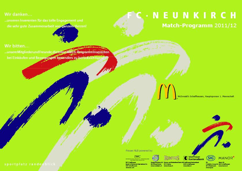 Match-Programm 2011/12